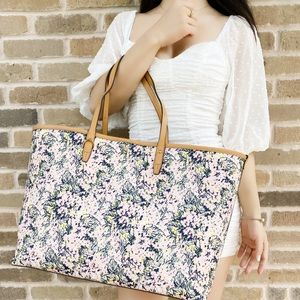 NWT Tory Burch Large Floral Tote